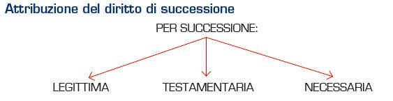 attribuzione del diritto di successione