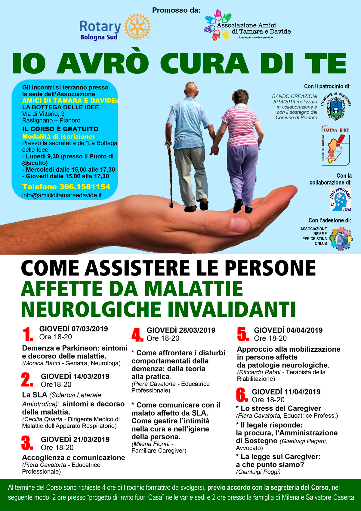Corso assistenza patologie neurologiche invalidanti